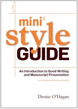 Mini style guide e-book with border